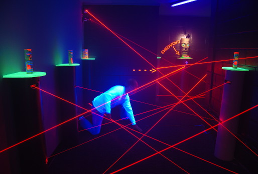 Mission Impassable Laser Maze