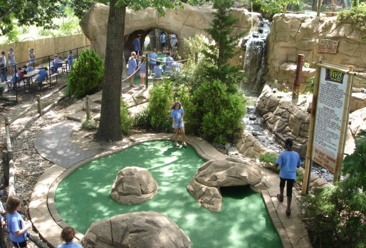 Award Winning Mini Golf Course