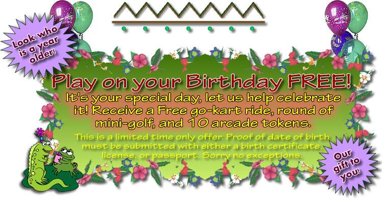 Tiki Action Park Birthday Special