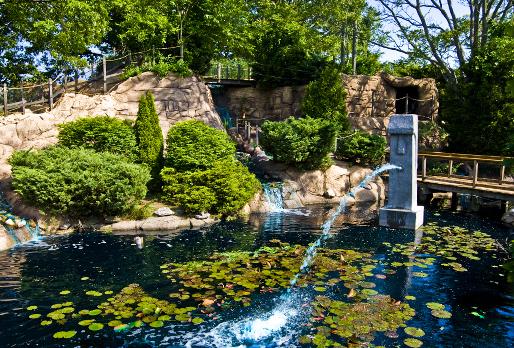 The Famous Tiki Fountain