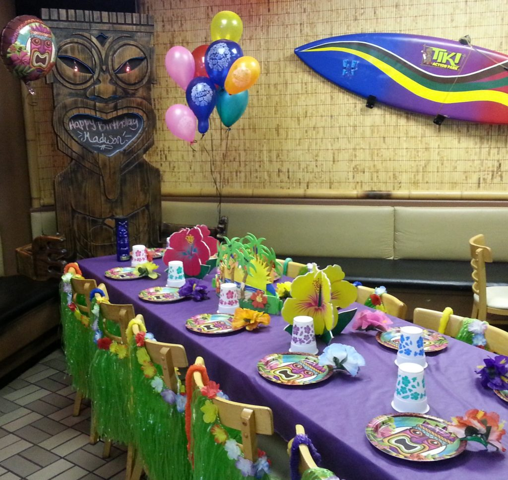 Photos Of Party Examples Tiki Action Park
