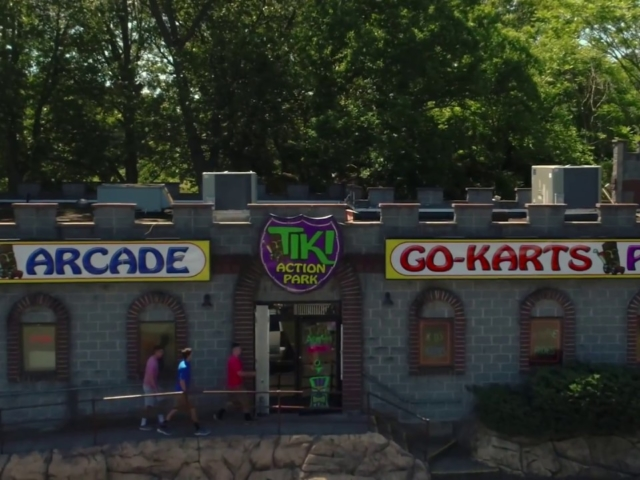 This is a full length video of Tiki Action Park's TV commercial.