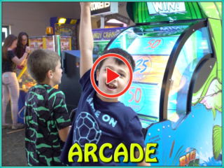 This is a short video of Tiki Action Park's arcade attraction.